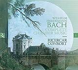 W.F. Bach: Die Kammermusik (Ricercar Jubiläumsserie IN ECO)