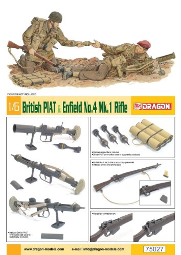 Dragon 500075027 – British Piat & Enfield No. 4 MK. I GE. 1 : 6