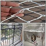 QZMX Rope Net Jardín Net Safety Net para el Sitio de...
