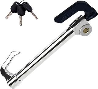 $35 » Eilsorrn Universal Steering Wheel Brake Lock Anti-Theft Retractable Double Hook Car Clutch Pedal Lock for Car Truck SUV Va...