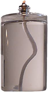 Firefly 5-Ounce Refillable Glass Liquid Candle - Votive Size Emergency Candles - Replacement for Liquid Paraffin Disposable Fuel Cells