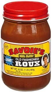 SAVOIE'S Old Fashioned Light Roux (16 oz)