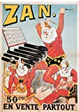 Zan Haribo Poster für Süßigkeiten, Pub, Reproduktion,