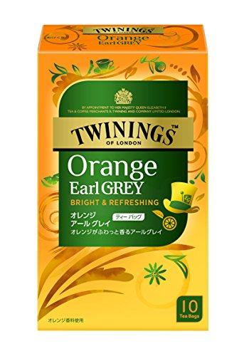 トワイニング オレンジ アールグレイ 10P×6箱