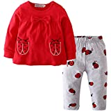 Infant Baby Girl Clothes Short Sleeve Outfits...