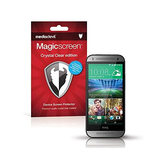 MediaDevil Pellicola Protettiva per HTC One Mini 2 - Crystal Clear (Invisibile) - (2-Pezzi)
