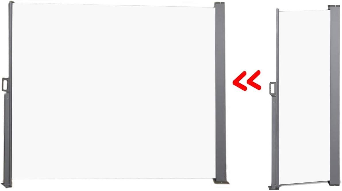 Amazon.de 20 Outdoor Ausziehbare Seitenmarkise für Terrasse ...