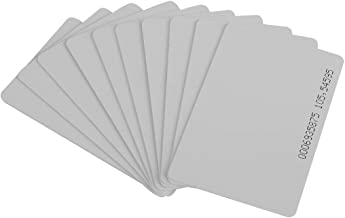 Hoge kwaliteit 10 stuks 125KHz EM4100 / TK4100 RFID Proximity ID Smart Card 0,85 mm dunne kaarten voor ID en toegangscontr...