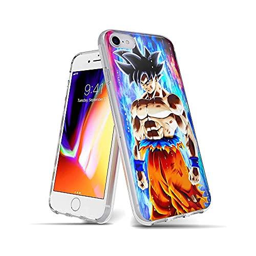 SAdNTagN iPhone 7 Funda, iPhone 8 Funda Ultra Slim Cárcasa Silicona Transparente con Dibujos Diseño Patrón Bumper Case Cover para iPhone 7 / iPhone 8'Tag #B005