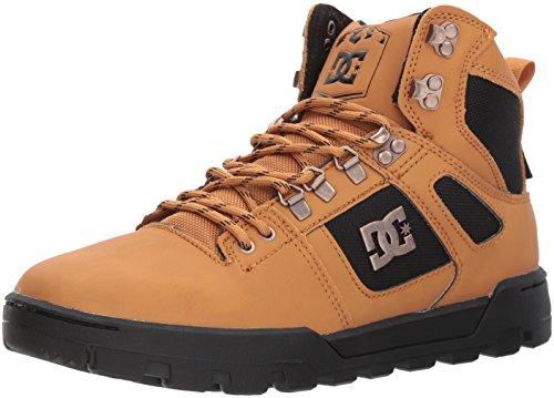 DC Herren Boot Spartan High Wr Stiefel, Weizen/Dunkle Schokolade, 42 EU