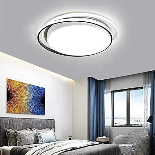 Lámparas de araña LED Lámpara De Techo, Contemporáneo Flush Mount Sala De Estar Cocina Isla Mesa Dormitorio Accesorio De Iluminación Lámpara De Lámparas De Diseño Creativo,White Light,220