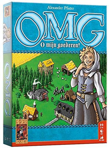 999 Games 999-Omg01 Omg - o Mijn Goederen. Kaartspel Kaartspel, Multikleur