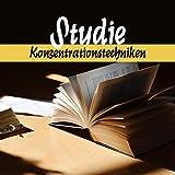 Studie: Konzentrationstechniken - Kreative Ideen, Schnelle Arbeit, Achtsamkeit, Gute Energie, Einfaches Lernen