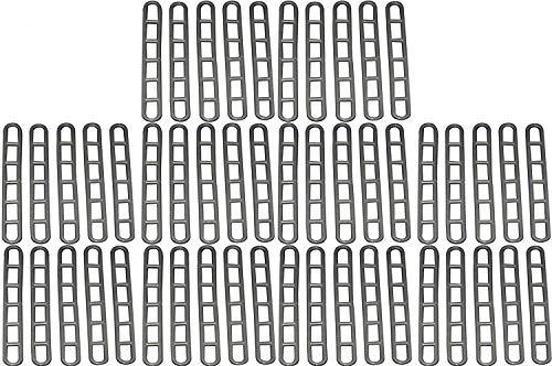 Paquete de 50 unidades de goma para toldo, para caravana