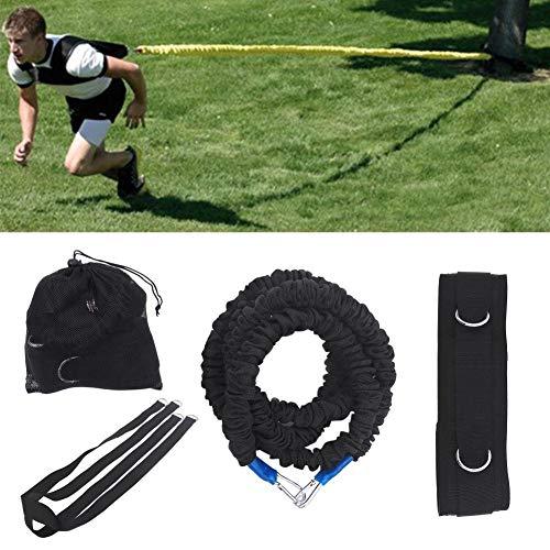 Fasce di Resistenza Kit, Resistance Training Rope Explosive Force Bounce Allenamento Fisico Resistenza Corda Migliorare velocità Resistenza e Forza