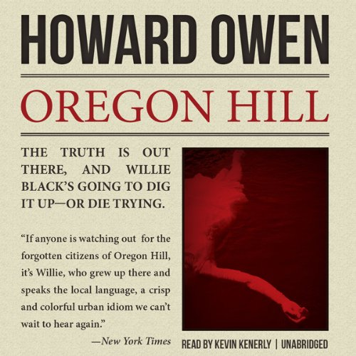 Oregon Hill audiobook cover art