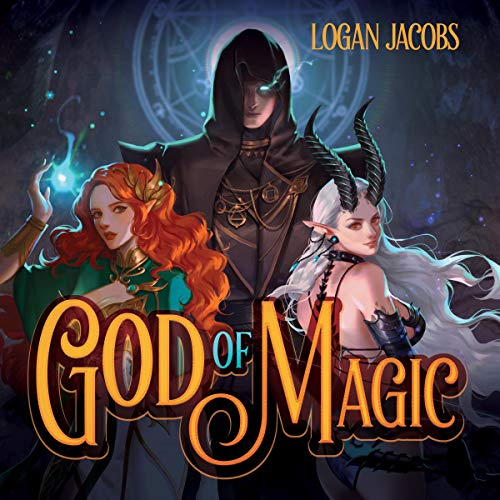 God of Magic audiobook cover art