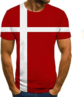 Summer Newest National flags 3D Printed T Shirt Men Casual Male tshirt Short Sleeve Funny T Shirts Tops tee 5XL TXU-1278