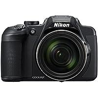 Nikon CoolPix B700 - Cámara Digital de 20.3 megapíxeles (Zoom Opt. 60 x, Full HD de vídeo, rotación y Pantalla giratoria) Color Negro