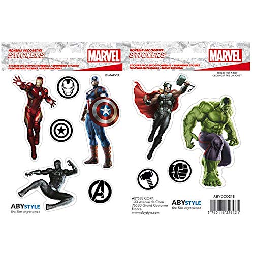 Set Stickers Marvel - Avengers 16x11 cm