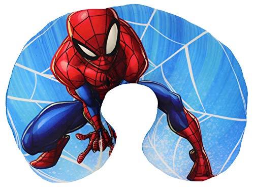Marvel Spider-Man Nackenkissen Reisekissen für Kinder, Superheld, 28 x 33 cm