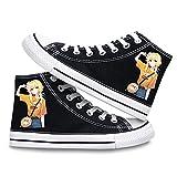CEATLYRING Zapatillas De Lona Genshin Impact Lumine,Deporte Zapatos Anime Unisex Cosplay Impreso Casual Cómodo Moda Shoes China 34-45