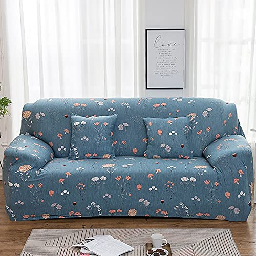 Funda de sofá elástica Spandex para Sala de Estar Material elástico Funda de sofá Funda Antideslizante para sofá A11 3 plazas