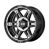 20x10 KMC XD Offroad Series XD840 Spy Ii 8x165.1-18 Offset (4.79 inch backspace) 125.5 Hub - Gloss Black Machined - XD84021080318N [ Authorized Dealer]