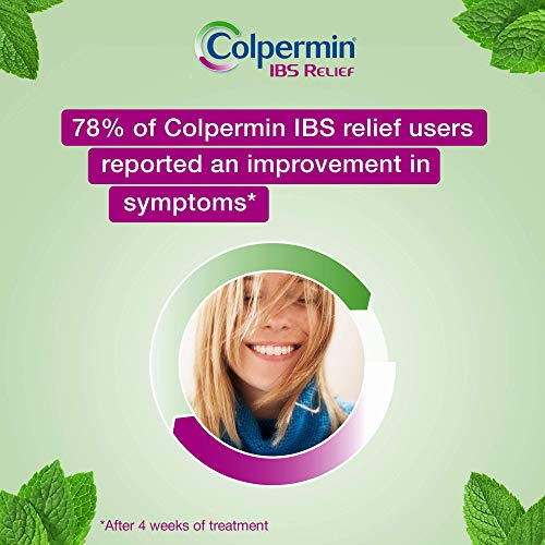 Colpermin IBS Relief - Contains Natural Peppermint Oil That Relieves IBS Symptoms