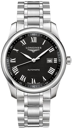 Longines Reloj Master Collection automático 40mm esfera negra