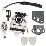 FidgetFidget Carburetor Kit for Shindaiwa 22C 22T 22F T220 Trimmers Replace 67000-81010 Carb
