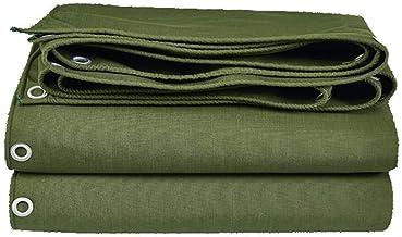 Zeildoek Zeildoek Canvas Groen Met Lijm Waterdichte Schaduw Outdoor Truck Siliconen Doek (Maat: 4 & keer; 3m)