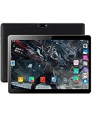 10,1 tums tablett 2GB + 32 GB mobil tablett Octa-Core med dubbla SIM-kortplats och kamera IPS HD Touch Screen WiFi Bluetooth GPS 5000MAH, FM, svart