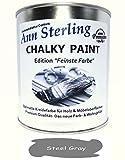 """1Kg. Kreidefarbe Shabby Chic""""Feinste Farbe"""" Ann Sterling für Innen und Außen Möbellack Bastellfarbe"""