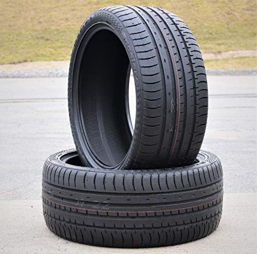 Set of 2 (TWO) Accelera Phi All-Season High Performance Radial Tires-245/40ZR21 100Y XL