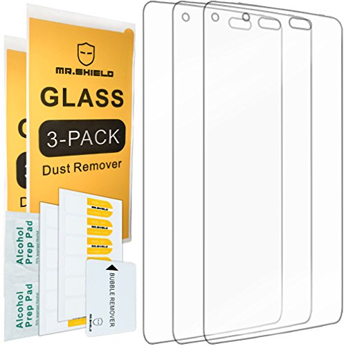 [3-PACK]-Mr.Shield Designed For Blackberry DTEK50 / BlackBerry Neon [Tempered Glass] Screen Protector with Lifetime Replacement