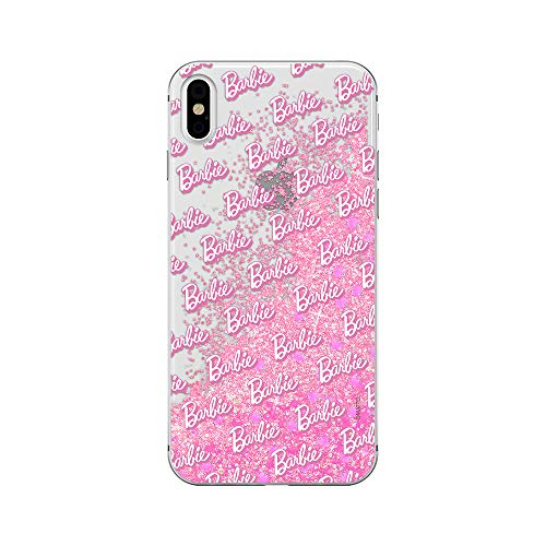 Estuche para iPhone XS MAX Barbie Original con Licencia Oficial, Carcasa, Funda, Estuche de Material sintético TPU-Silicona, Protege de Golpes y rayones