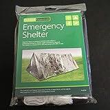 Garciaria Tente d'abri d'urgence Ultra-léger pour Camping-Car d'extérieur, Tente de Refuge d'urgence (Couleur: Argent)