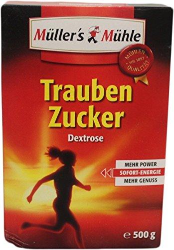 Müllers Mühle Traubenzucker Dextrose (500g Packung)