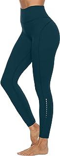 JOYSPELS Shape Leggings Damen Sporthose mit Taschen Blickdichte Trainingshose Yogahose Sportleggins für Fitness Sport Freizeit