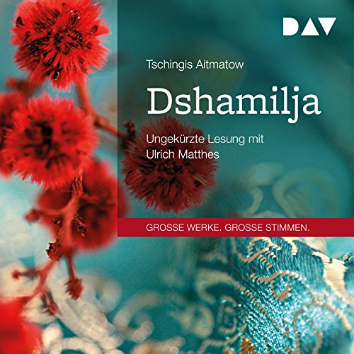 Dshamilja audiobook cover art