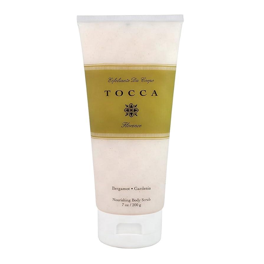 大きい群衆便益トッカ(TOCCA) ボディーケアスクラブ フローレンスの香り 200ml(全身?ボディー用マッサージ料 ガーデニアとベルガモットが誘うように溶け合うどこまでも上品なフローラルの香り)