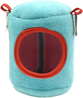 Mumoo Bear Mini Animals Hamster Bed Guinea Pig Chinchillas Squirrel Bed Nest Hamster House Cage Accessories blue M