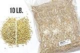 RAHR 2-Row Malted Barley 10 LBS CRUSHED Home Brewing Beer Making Recipe Ingredients Vacuum Sealed