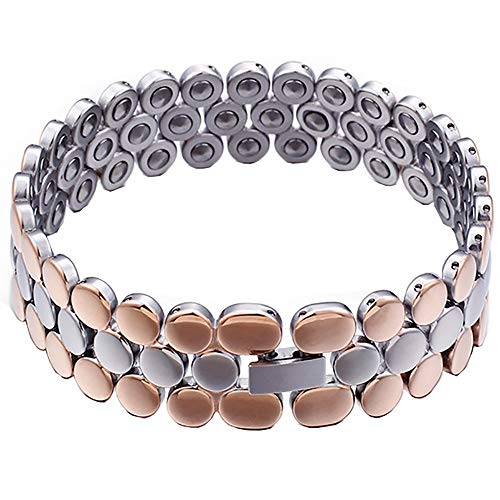 Gepersonaliseerde Heren Lederen Armband Heren Armband Stainless Steel Germanium armband sieraden Germanium Magneet van het Paar Fashion Bracelet Heren gepersonaliseerde armband