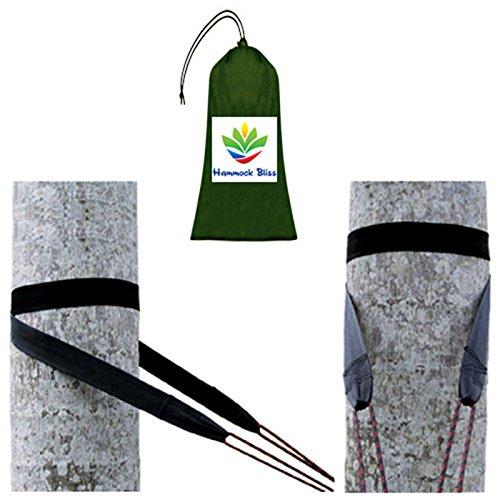 Hamaca Bliss Tree - Correas para colgar cualquier hamaca con facilidad, instalación rápida, superfuerza, solo 90 gramos