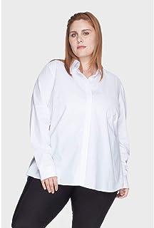 Camisa Evasê 100% Algodão Plus Size