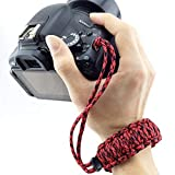 Camera Accessory for DSLR/SLR Cameras, Random Color Delivery DIY Weave Style Anti-Lost Colorful