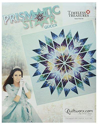 Quiltworx - Judy Niemeyer Quilting JNQ00252P1 Prismatic Star Queen Pattern