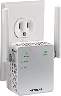 Netgear Wifi Range Extender Ex3700 - Dekking Tot Maximaal 70 M² En 15 Apparaten, Met Ac750 Dual-Band Draadloze Signaalvers...